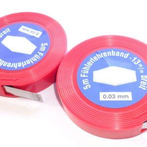 Spessimetro in acciaio 0.04 mm per boccole forcella