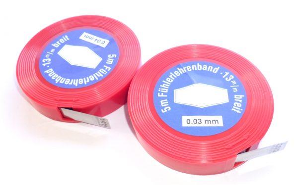 Spessimetro in acciaio 0.05 mm per boccole forcella